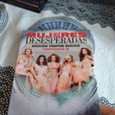 Series de TV: G-81 DVD MUJERES DESESPERADAS TEMPORADA 3 CARATULA ESTADO REGULAR CON HUMEDAD. Lote 271606168