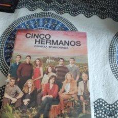 Series de TV: G-81 DVD CINCO HERMANOS CUARTA TEMPORADA CARATULA ESTADO REGULAR CON HUMEDAD. Lote 271606458