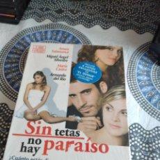 Series de TV: G-81 DVD NUEVO PRECINTADO SIN TETAS NO HAY PARAISO NUEVO PRECINTADO 1 TEMPORADA. Lote 271607463
