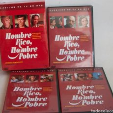 Series de TV: HOMBRE RICO HOMBRE POBRE - PRIMERA TEMPORADA EN CASTELLANO PACK 3 DVD'S. Lote 271660918