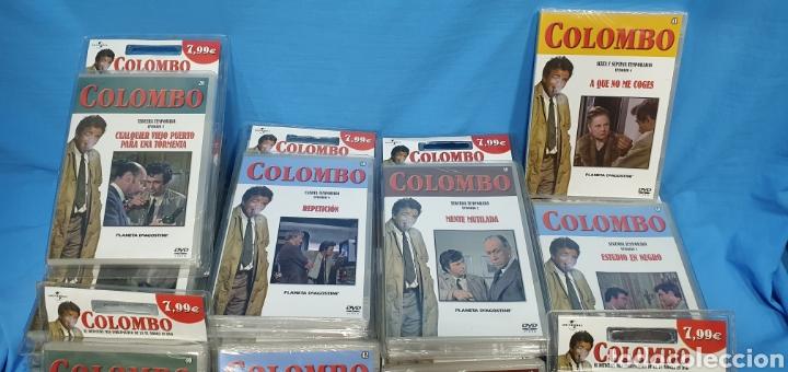 Series de TV: SERIE EN DVD - COLECCIÓN COLOMBO - CASI COMPLETA - PLANETA AGOSTINI - PRECINTADAS - Foto 3 - 272891673