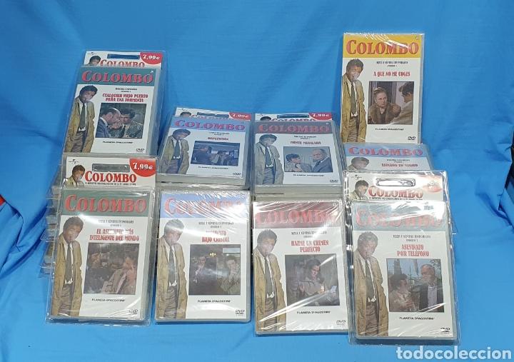 SERIE EN DVD - COLECCIÓN COLOMBO - CASI COMPLETA - PLANETA AGOSTINI - PRECINTADAS (Series TV en DVD)