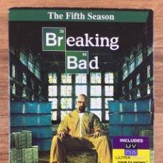 Series de TV: BREAKING BAD - TEMPORADA 5 COMPLETA 3 DVD ( EN ESPAÑOL CASTELLANO ). Lote 272931248