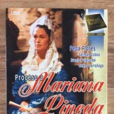 Series de TV: PROCESO A MARIANA PINEDA SERIE COMPLETA 2 DVD - PEPA FLORES,JUANJO PUIGCORBÉ,CARLOS LARRAÑAGA. Lote 273144433
