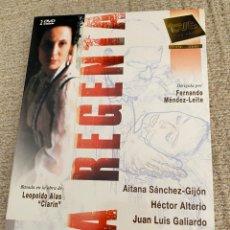 Séries de TV: LA REGENTA 2 DVD. Lote 274880758