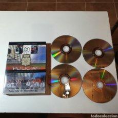 Series de TV: POLICÍAS, EN EL CORAZÓN DE LA CALLE, SEGUNDA TEMPORADA COMPLETA 4 DVD'S.. Lote 275029858