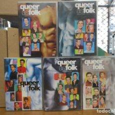 Series de TV: QUEER AS FOLK - COMPLETA - LAS CINCO TEMPORADAS - DESCATALOGADA - LGTBI. Lote 275111753