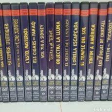 Series de TV: TINTIN 16 DVDS SERIE TV HERGE LAS AVENTURAS DE TINTIN. Lote 275904443