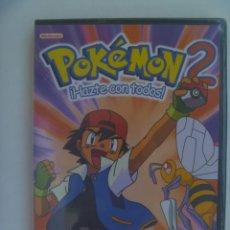 Series de TV: DVD DE DIBUJOS ANIMADOS MANGA - AMINE: POKEMON 2 , ¡ HAZTE CON TODOS ! . PRECINTADO. Lote 276235918