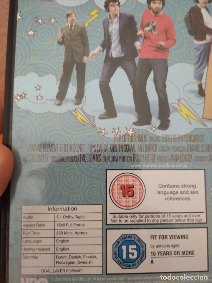 Series de TV: DVDs FLIGHT OF THE CONCHORDS HBO SEGUNDA TEMPORADA COMEDIA - Foto 2 - 144060986