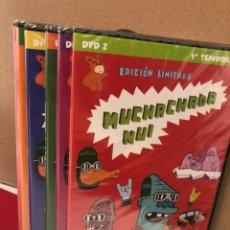 Séries de TV: MUCHACHADA NUI - TEMPORADAS 2, 3 Y 4 - DVD - PRECINTADO. Lote 276659128