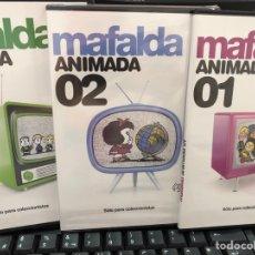 Series de TV: LOTE 3 DVD MAFALDA ANIMADA. Lote 277000463
