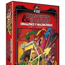 Series de TV: SERIE COMPLETA DVD DRAGONES Y MAZMORRAS PRECINTADO AQUITIENESLOQUEBUSCA ALMERIA. Lote 277093303