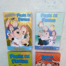 Series de TV: LOTE DE 4 TEMPORADAS DE PADRE DE FAMILIA ( 1,2,3 Y 4 ). Lote 277095478