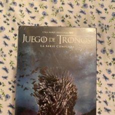 Series de TV: JUEGO DE TRONOS SERIE COMPLETA DVD PRECINTADO. Lote 277096493