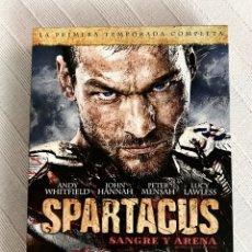 Series de TV: SPARTACUS SANGRE Y ARENA DVD - PRIMERA TEMPORADA COMPLETA - 5 DISCOS. Lote 277109363