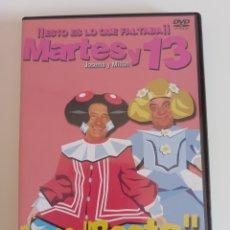 Series de TV: MARTES Y TRECE - DVD - BUENO BASTA - ESTO ES LO QUE FALTABA - HUMOR. Lote 277128853