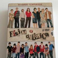 Series de TV: FISICA O QUIMICA - 5 DVD - SEGUNDA TEMPORADA - CONTENIDOS EXTRAS - SERIE TELEVISIÓN. Lote 277141263