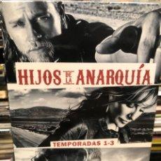 Series de TV: HIJOS DE LA ANARQUÍA TEMPORADAS UNO AL TRES 1-3. Lote 277145553