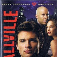Series de TV: SMALLVILLE SEXTA TEMPORADA COMPLETA ( 6 DVD). Lote 277145893