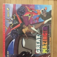Series de TV: GREAT MAZINGER BOX 2 ( EPISODIOS 12-22 ) DVD - PRECINTADO -. Lote 277169148