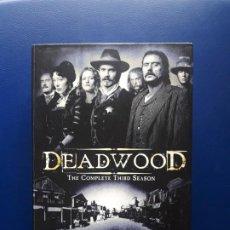 Series de TV: DEADWOOD 3. DVD. ESPAÑOL. SERIE. ORIGINAL. TERCERA TEMPORADA COMPLETA. Lote 277170723