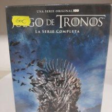 Séries de TV: REF.14556 JUEGO DE TRONOS LA SERIE COMPLETA DVD NUEVO PRECINTADO. Lote 277585603