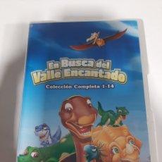 Séries de TV: REF.14561 EN BUSCA DEL VALLE ENCANTADO COLECCIÓN COMPLETA 1-14 DVD NUEVO PRECINTADO. Lote 277587108