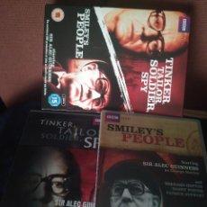 Series de TV: SMILEY'S PEOPLE (MINISERIES 1982). EL TOPO (TINKER TAILOR SOLDIER ... 2011). SOLO INGLES. PERFECTOS. Lote 277620373
