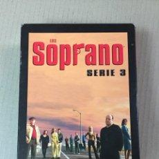 Series de TV: LOS SOPRANO, SERIE 3. CONTIENE 4 DVD'S, CAPÍTULOS 1 AL 13. Lote 277629638