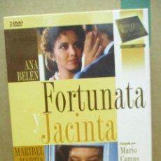 Series de TV: FOTUNATA Y JACINTA - ANA BELEN - SERIE TV COMPLETA - MARIO CAMUS - BENITO PEREZ GALDOS - DVD. Lote 277696423