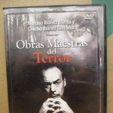 Series de TV: OBRAS MAESTRAS DEL TERROR - NARCISO IBAÑEZ META Y NARCISO IBAÑEZ SERRADOR - TRES HISTORIAS DE POE -. Lote 277698873