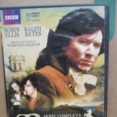 Series de TV: POLDARK - SERIE TV COMPLETA BBC - 10 DVDS - 29 CAPITULOS - DVD. Lote 277701643