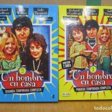 Series de TV: UN HOMBRE EN CASA - 1 Y 2 TEMPORADA - 4 DVDS - 14 EPISODIOS. Lote 277754578