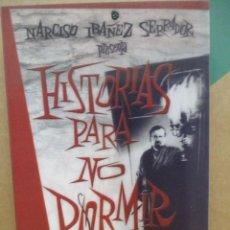 Series de TV: HISTORIAS PARA NO DORMIR - CHICHO IBAÑEZ SERRADOR - 8 DVDS - 25 EPISODIOS. Lote 277755593