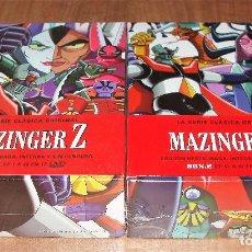 Series de TV: MAZINGER Z LA SERIE CLASICA ORIGINAL COLECCION COMPLETA BOX 1-2 NUEVO PRECINTADO 24 DVD (SIN ABRIR). Lote 289898333