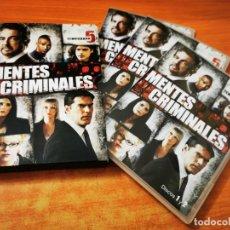 Séries de TV: MENTES CRIMINALES TEMPORADA 5 SERIE TV - 6 DVD ESPAÑA. Lote 278335953
