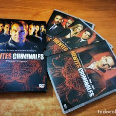 Séries de TV: MENTES CRIMINALES TEMPORADA 1 SERIE TV - 6 DVD ESPAÑA. Lote 278337843