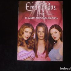 Serie di TV: EMBRUJADAS LA CUARTA TEMPORADA COMPLETA EN 6 DVD COMO NUEVOS - SOLO DESPRECINTADA. Lote 278593728