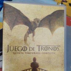Series de TV: DVD JUEGO DE TRONOS 5 TEMPORADA. Lote 278597333