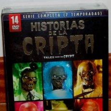 Series de TV: HISTORIAS DE LA CRIPTA SERIE COMPLETA PACK 14 DVD+10 POSTALES NUEVO PRECINTADO (SIN ABRIR). Lote 278623748