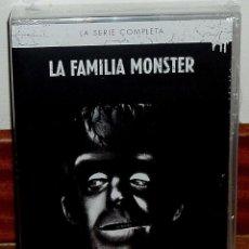 Series de TV: LA FAMILIA MONSTER SERIE COMPLETA 12 DISCOS DVD NUEVO PRECINTADO COMEDIA (SIN ABRIR) R2. Lote 297055483