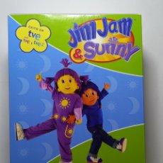 Series de TV: JIM JAM & SUNNY - DVD - QUÉ DIVERTIDO ES COMER BIEN - SERIE INFANTIL. Lote 279486248