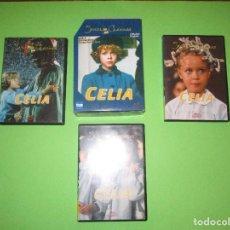 Series de TV: CELIA - 3 DVD - RTVE - SERIES CLASICAS TVE - DIVISA. Lote 279514458
