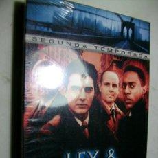 Series de TV: LEY Y ORDEN 2 TEMPORADA EN DVD EDICION ESPECIAL CAJA CARTON NUEVA Y SELLADA. Lote 279587158