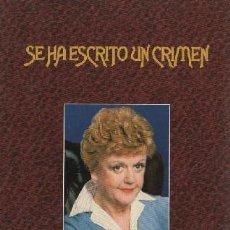Séries de TV: SE HA ESCRITO UN CRIMEN. TEMPORADA OCTAVA (6 DISCOS) DVD-8082. Lote 280170848