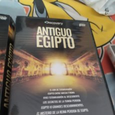 Séries de TV: DVD SERIE ANTIGUO EGIPTO 8 DVDS. Lote 281918968