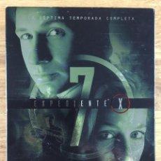 Series de TV: EXPEDIENTE X - TEMPORADA 7 EDICIÓN COLECCIONISTA 6 DVD ( EN ESPAÑOL CASTELLANO ). Lote 282527453