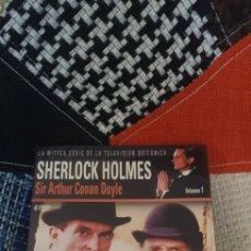 Series de TV: DVD SHERLOCK HOLMES, SERIE TV BRITÁNICA (ART. PRECINTADO). Lote 283294013