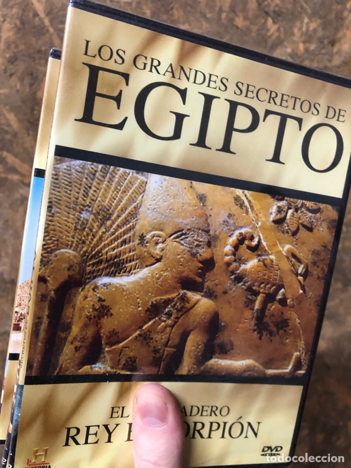 COLECCIÓN DVD LOS GRANDES SECRETOS DE EGIPTO - TUTANKHAMON RAMSES KARNAK CLEOPATRA… (Series TV en DVD)